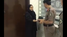 WATCH: First female driving license being issued in Saudi Arabia