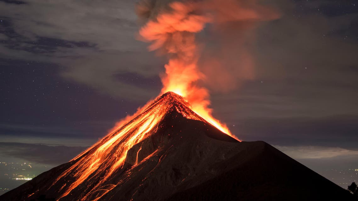 It is the second major eruption this year from the peak, following another that subsided at the beginning of February. (Shutterstock)