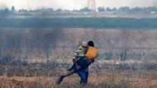 غزہ پٹی کی سرحد پر فلسطینی شہری اسرائیلی فائرنگ کا نشانہ بن گیا