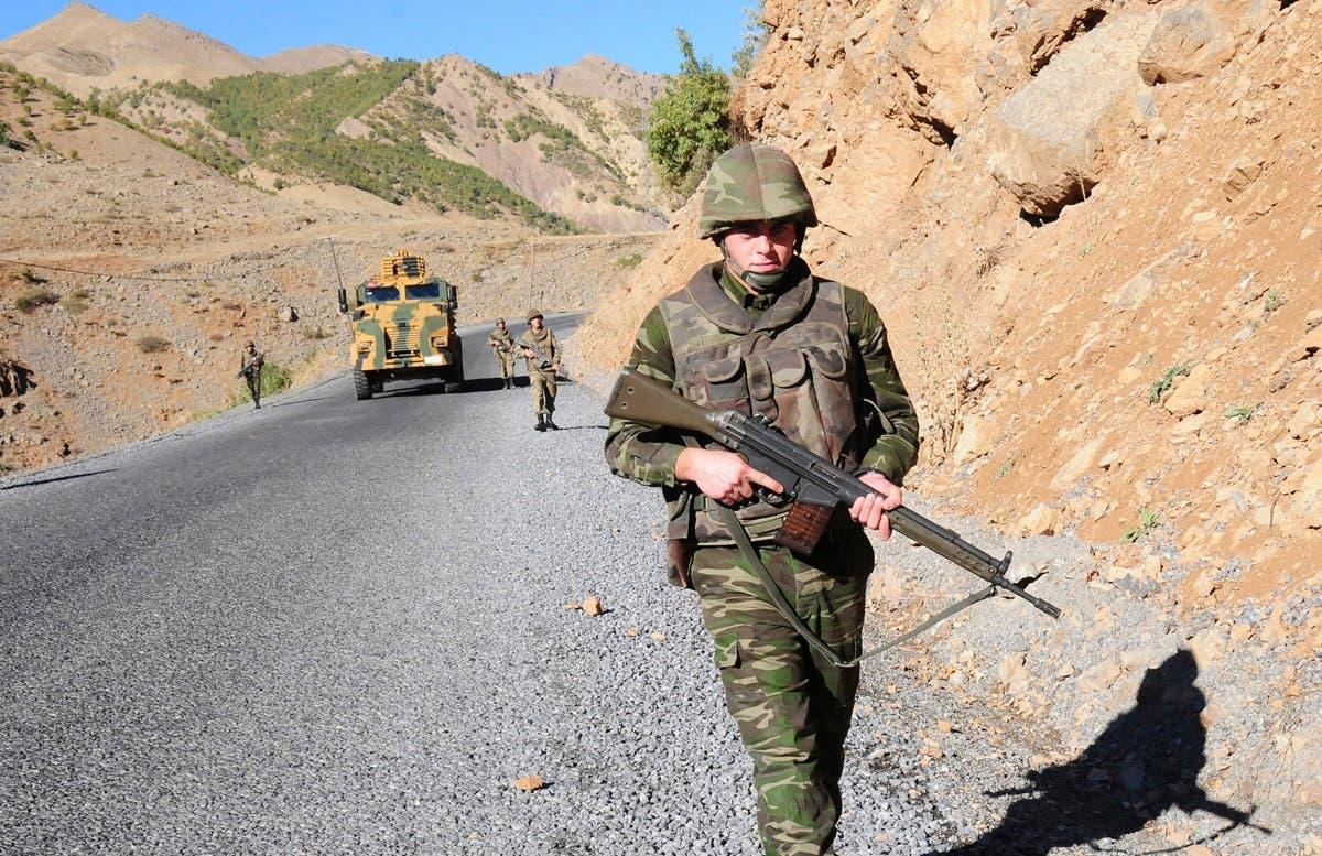 جندي تركي على الحدود العراقية (أرشيفية)