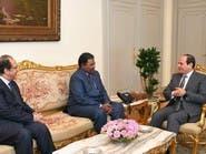 السيسي يبحث مع رئيس مخابرات السودان تعزيز العلاقات