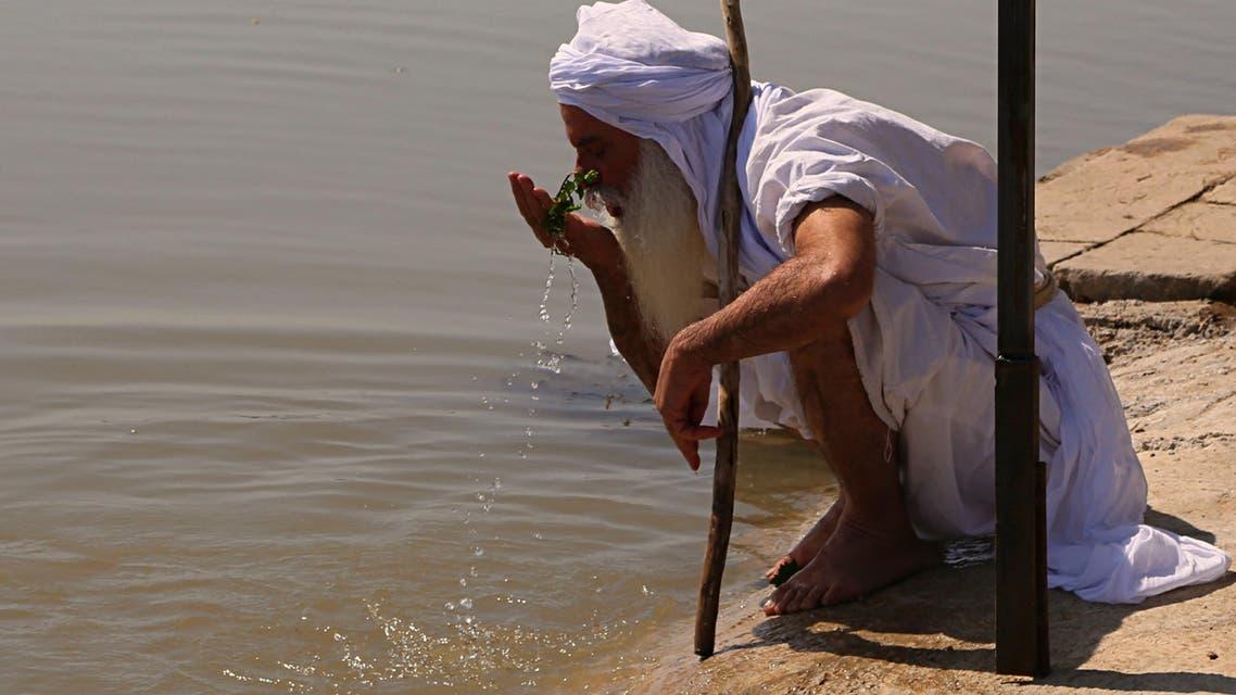 Iraq tigris river. (AP)