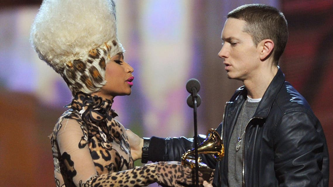 Eminem addressed speculation of the realtionship as he headlined the Governors Ball. (AFP: File Photo)