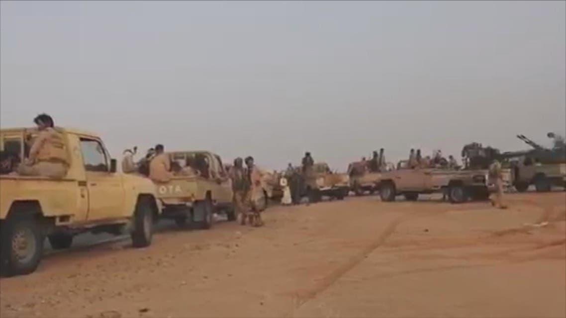 العمليات العسكرية للجيش اليمني والتحالف في الجوف