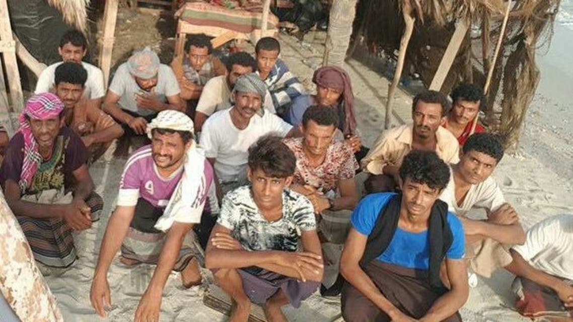 اسرى حوثيون في الساحل الغربي