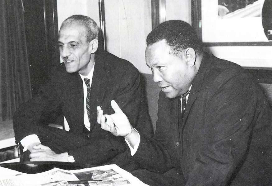 دجان الغاني بجانب تيسيما الإثيوبي