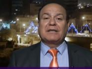 شاهد.. مؤرخ عراقي يبكي على الهواء بسبب نهر دجلة