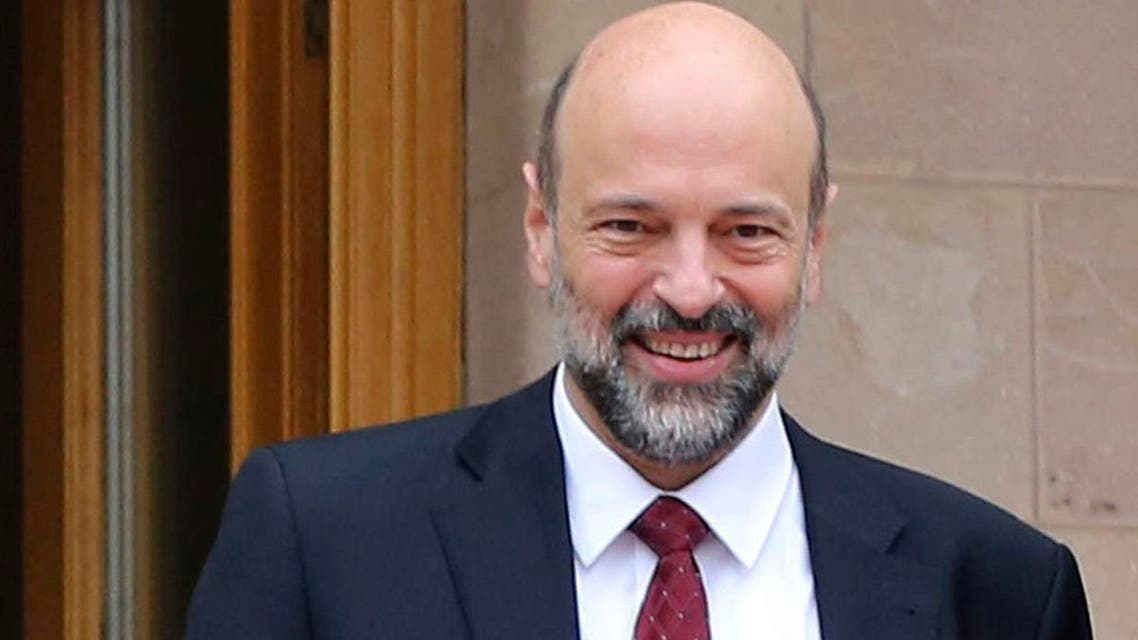 This Jan. 15, 2017 file photo, shows then newly appointed Education Minister Omar Razzaz, following a meeting at the Royal Palace, in Amman, Jordan. (AP)