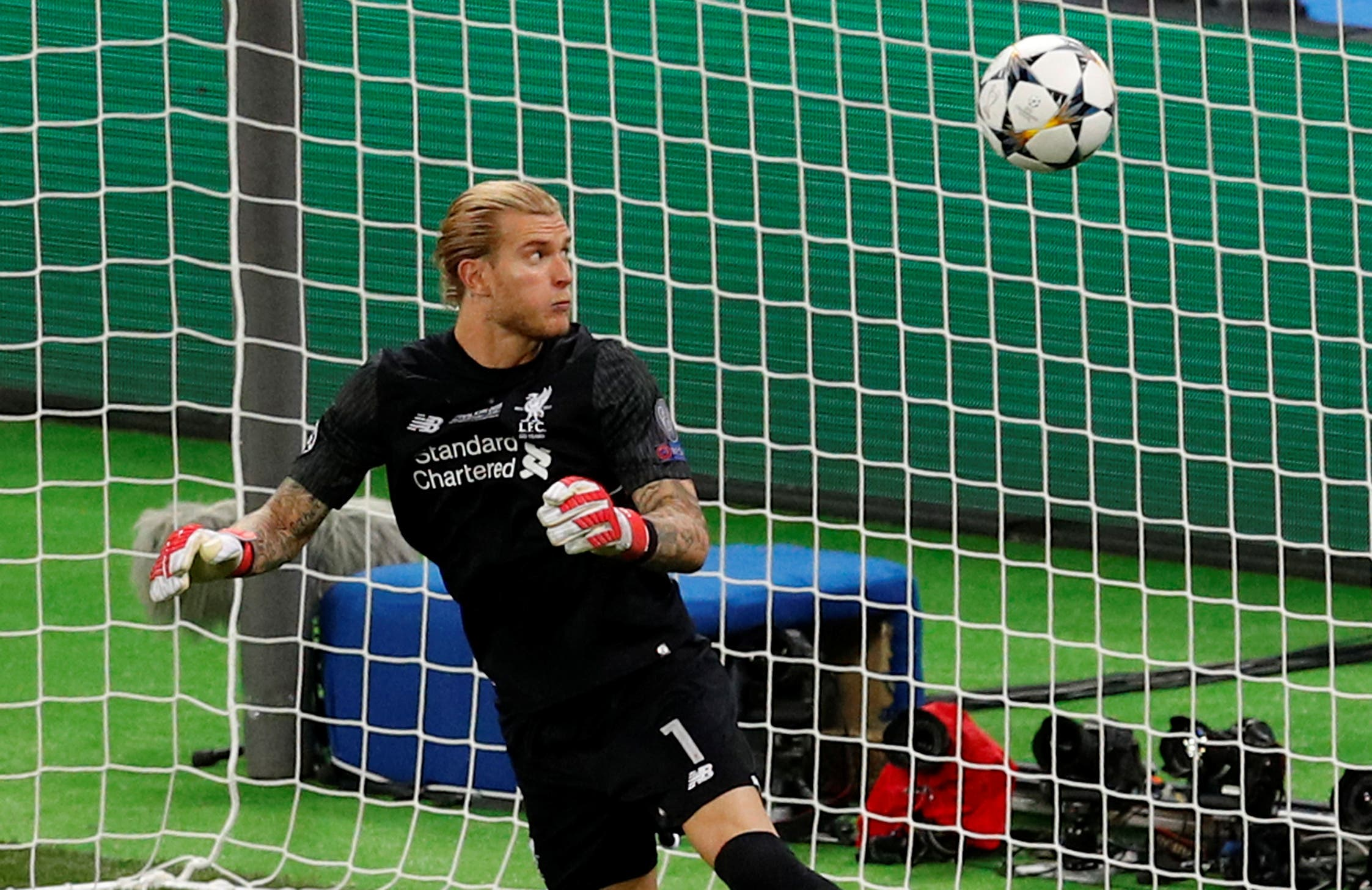 Karius had undergone several tests at Mass Gen which confimed he was suffering from a concussion. (Reuters)