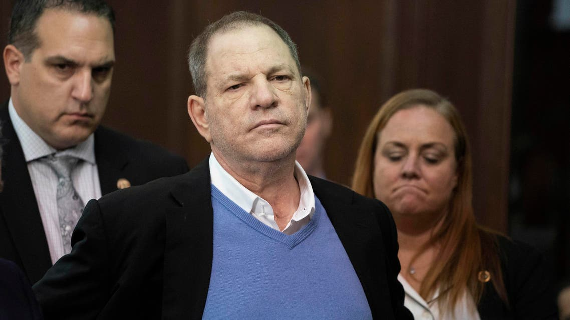 Weinstein was charged with rape and a sex crime in New York late last month, nearly eight months after his career imploded in a blaze of accusations of sexual misconduct. (AP)