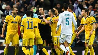 """إيقاف بوفون 3 مباريات بسبب """"جزائية"""" ريال مدريد"""