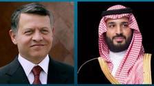 محمد بن سلمان يبحث مع العاهل الأردني مستجدات المنطقة