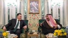 لیبیا کے وزیراعظم کی خادم الحرمین الشریفین سے ملاقات: تصاویر
