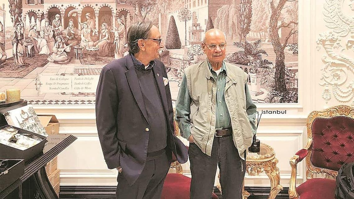 A S Dulat and Assad Durrani, co-authors of the new book and ex spy chiefs of India and Pakistan. (Supplied)