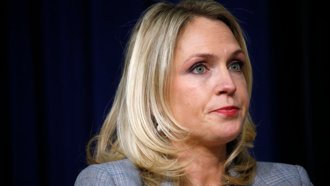 The White House was roiled by bipartisan fury over the remark attributed to Kelly Sadler in May.  (Reuters)