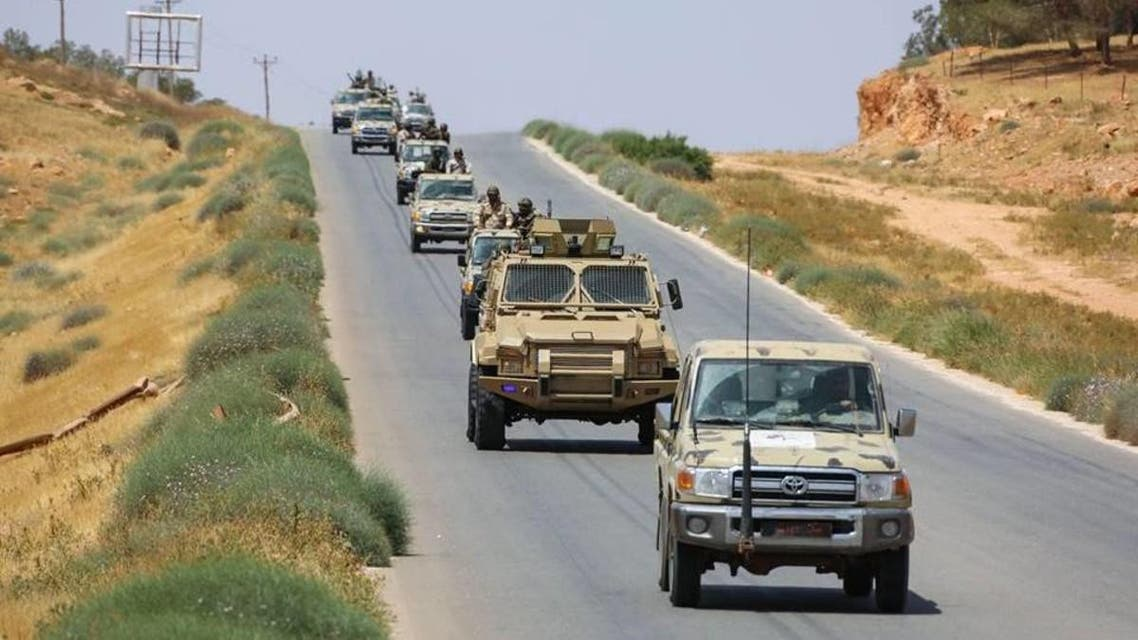 libyan army in darrna