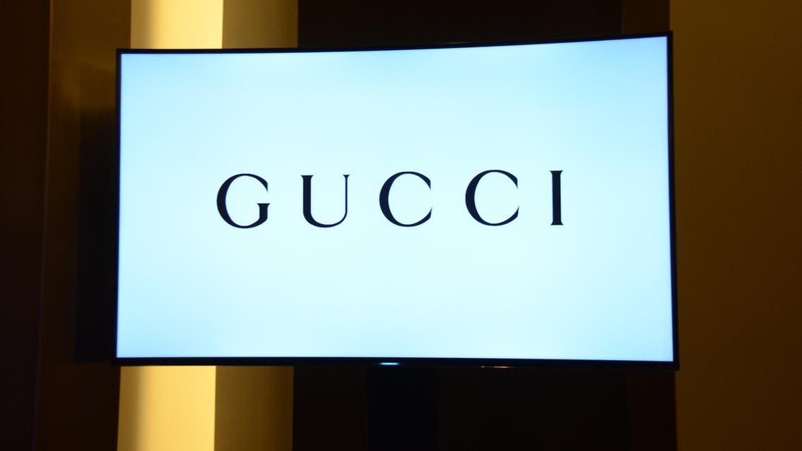 The Gucci logo. (File photo: The Associated Press)