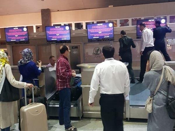 مرة أخرى.. قراصنة إيرانيون يخترقون شاشات مطار تبريز