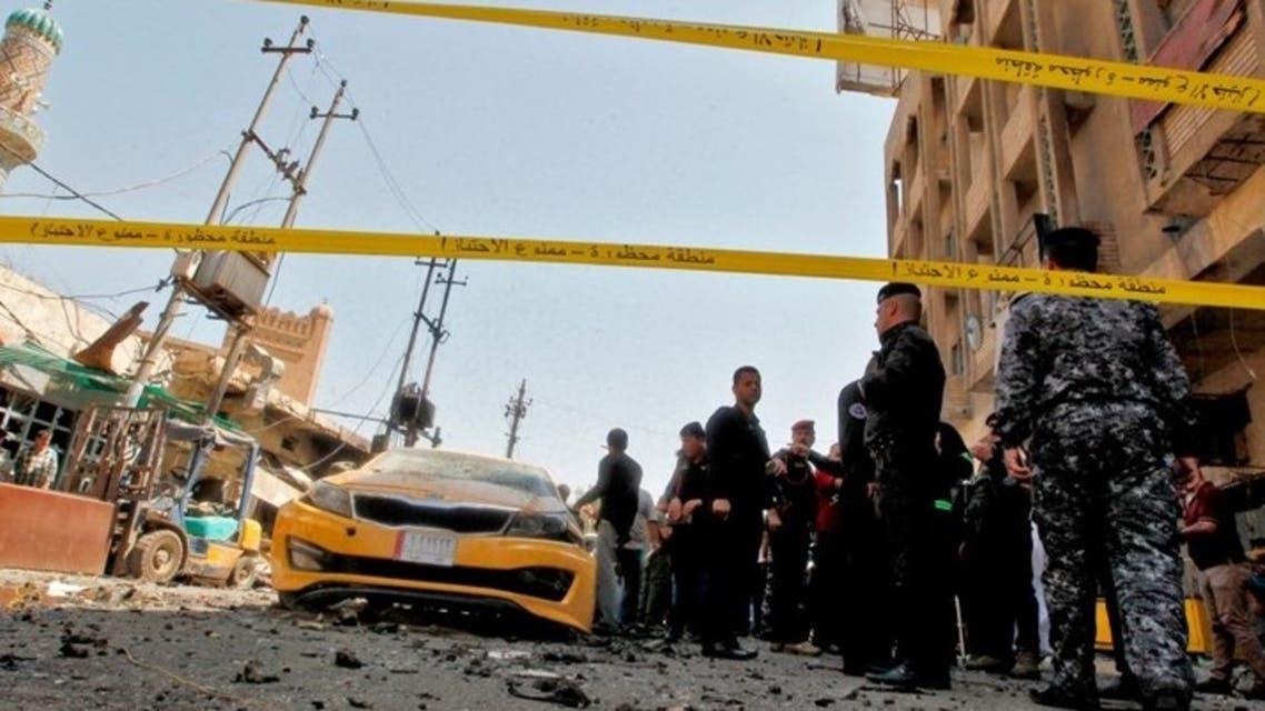 انفجار سابق في بغداد