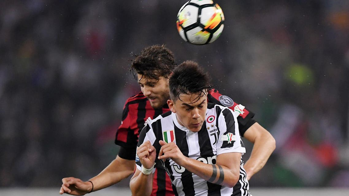 The match usually features the Serie A champion against the Coppa Italia winner. (Reuters)