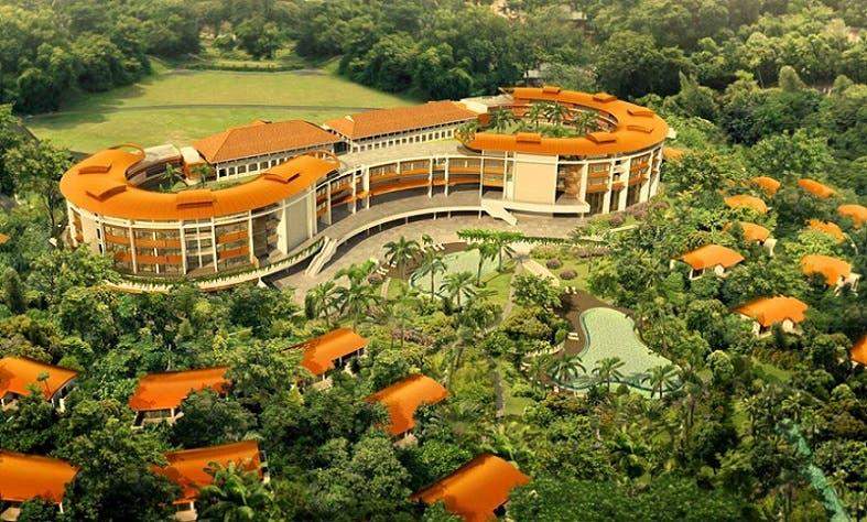 فندق كابيلا المنعزل في منتجع سياحي بجزيرة سنغافورية، مثالي لأمن النزلاء