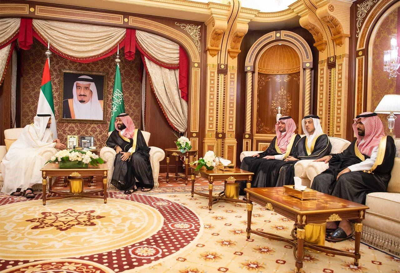 Saudi Arabia, UAE crown prince 2