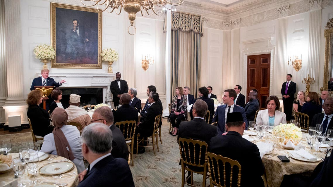 Trump ramadan iftar event. (AP)