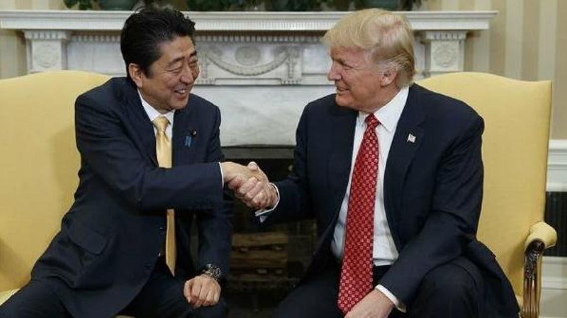 ترامپ شینزو