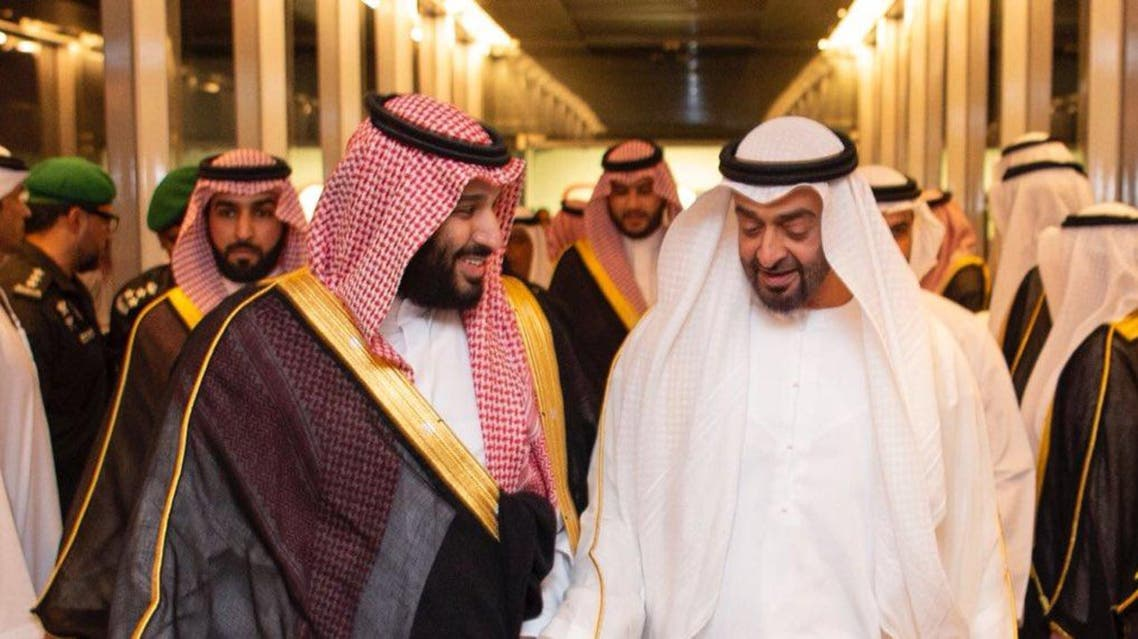 Saudi crown prince receives Abu Dhabi' crown prince in Jeddah