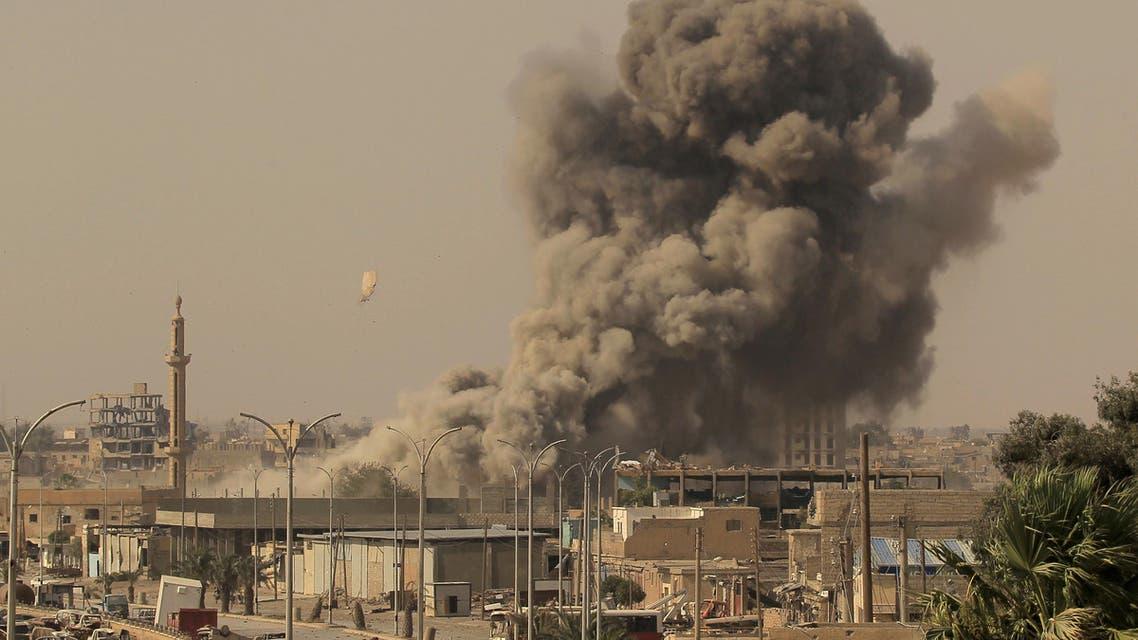 Syria raid file photo. (Reuters)