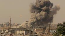 عراق کا شام میں داعش کے ٹھکانوں پر فضائی حملہ