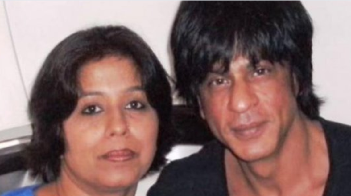 Shah Rukh's paternal cousin, Jehan visited the Bollywood superstar twice and the family maintains a close contact with their relatives across the border. (Twitter)