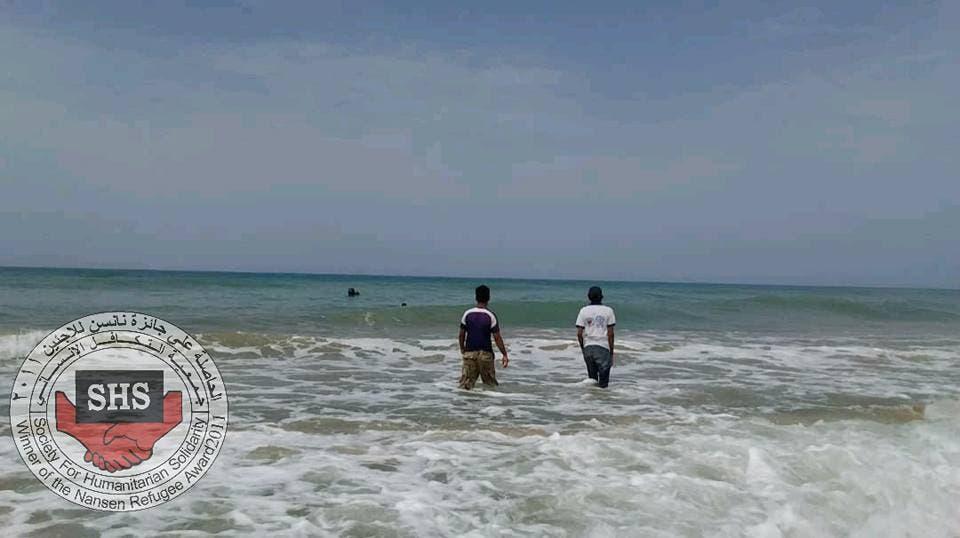 فرق انقاذ  تبحث عن المفقودين