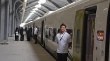 مکہ اور مدینہ کے درمیان حرمین ٹرین کے 4 اسفار مکمل