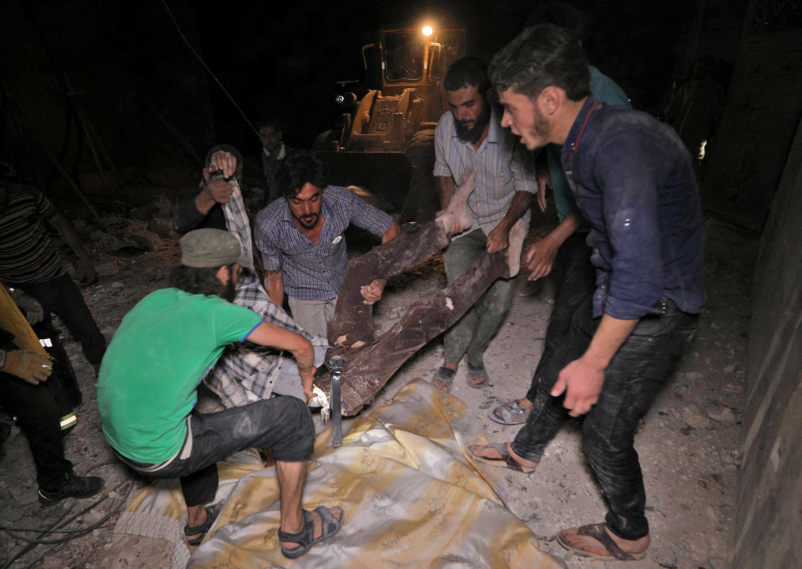 غارات روسية سابقى على إدلب