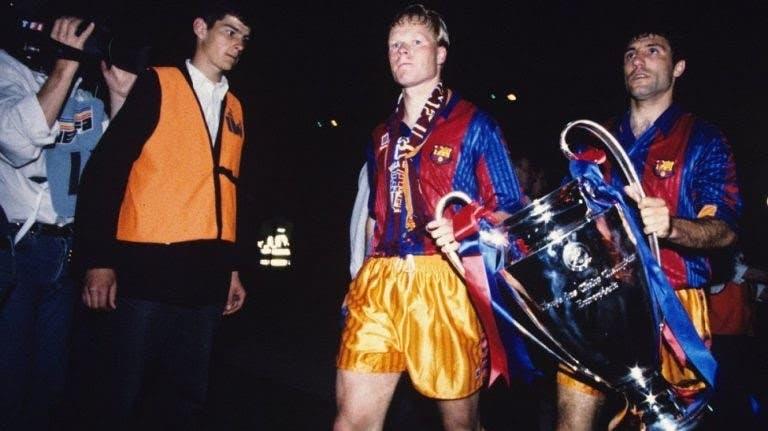 حقق خريستو لقب دوري أبطال أوروبا مع برشلونة