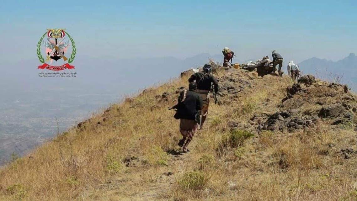 الجيش اليمني يتقدم في جبهات تعز