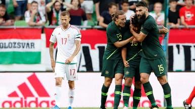 أستراليا تتغلب على المجر بصعوبة