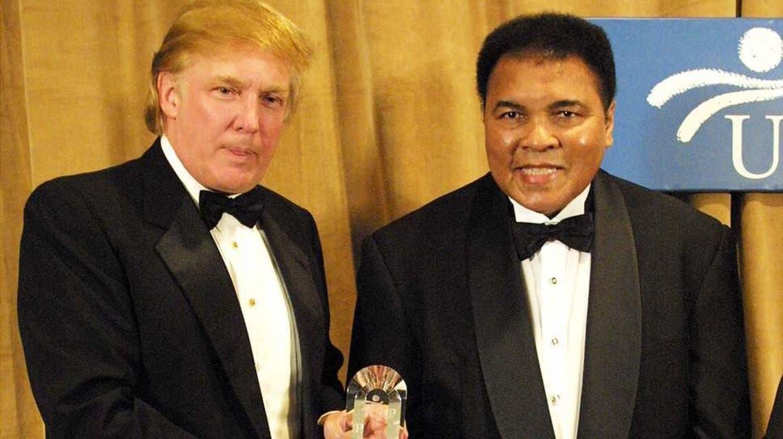 صداقة قديمة جمعت ترمب والراحل محمد علي