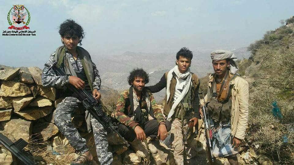 الجيش اليمنيفي جبهات تعز (أرشيفية)