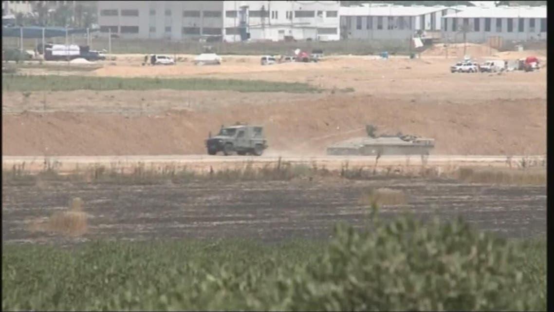THUMBNAIL_ الجيش الإسرائيلي يقتل 4 فلسطينيين على حدود قطاع غزة