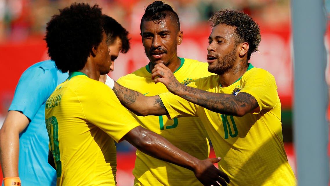 البرازيل النمسا
