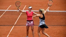 Czech duo Siniakova and Krejcikova win French Open women's doubles