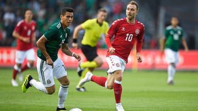 الدنمارك تتغلب على المكسيك ضمن استعداداتهما للمونديال