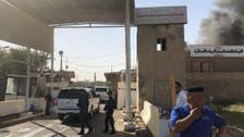 Iraqi ballot box storage site catches fire in Baghdad