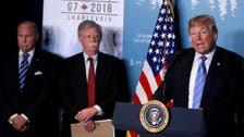 'جی سیون' ایران کے خطرناک عزائم کے خلاف متحد ہے:ٹرمپ
