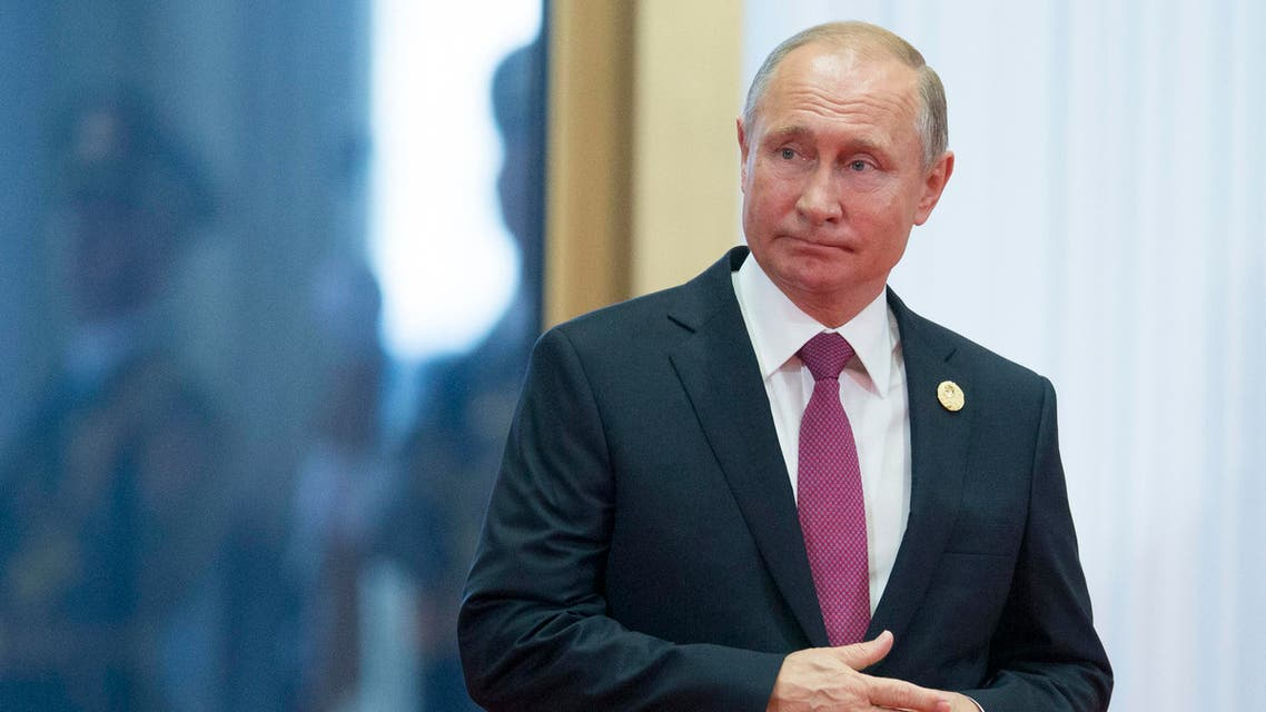 Putin says Washington's decision to exit the agreement could 'destabilize the situation' in the region. (AP)