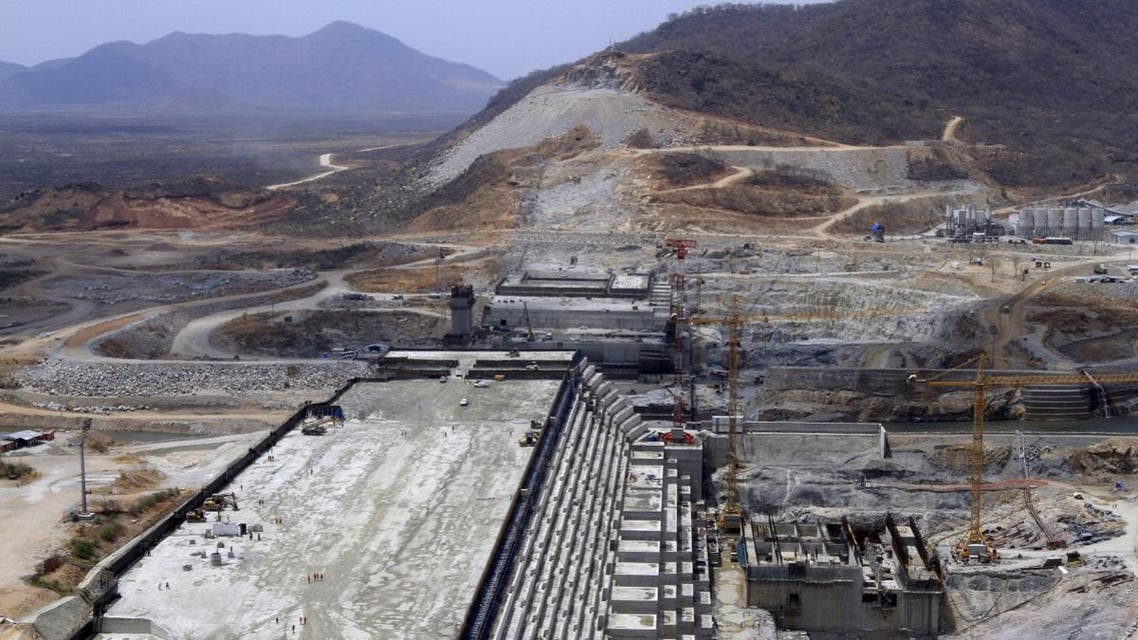 Ethiopia's Grand Renaissance Dam seen under construction during a media tour in Benishangul Gumuz Region, Guba Woreda, Ethiopia, in this March 31, 2015 file photo. REUTERS/Tiksa Negeri/Files