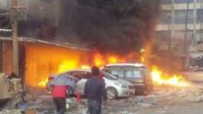 بیلٹ بکسوں میں آگ عراق پر ضرب لگانے کا منصوبہ ہے : العبادی