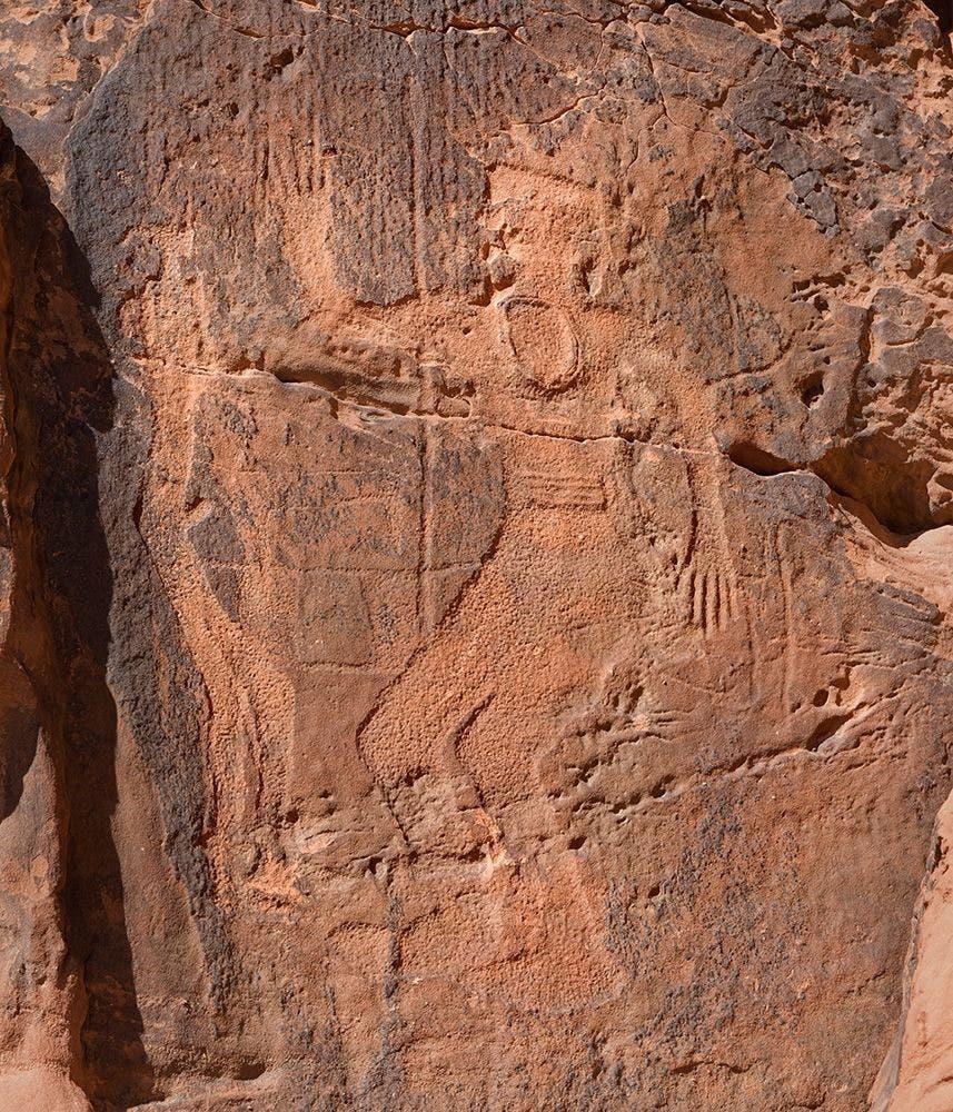 Batu berukir manusia